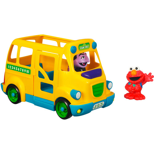 Click here to buy Sesame Street Playskool School Bus by Hasbro Inc..