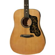 Sawtooth Beginner's Acoustic Dreadnought Guitar with Custom Graphic Pickguard
