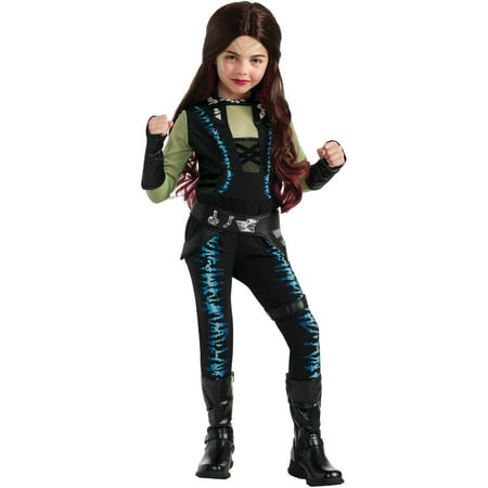 Guardians of the Galaxy Deluxe Gamora Child Halloween Costume (Catholic/christian Origin Of Halloween)