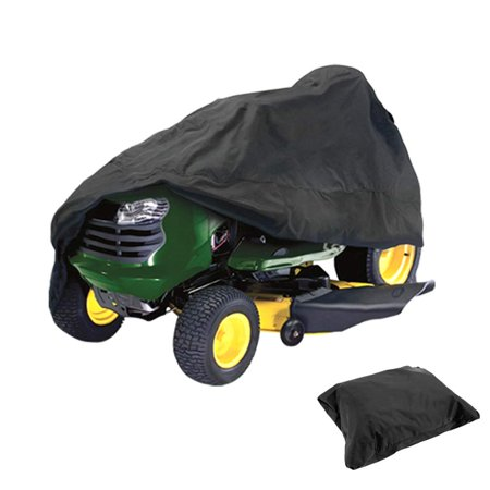 Homeya Lawn Mower Cover Waterproof Riding Mower Cover