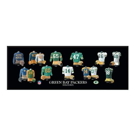 Winning Streak - NFL Uniform Plaque, Green Bay (Winning Streak Green)