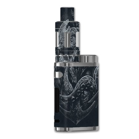 Skin Decal For Eleaf Istick 75W Vape Mod Box / Skull Anchor Octopus Under