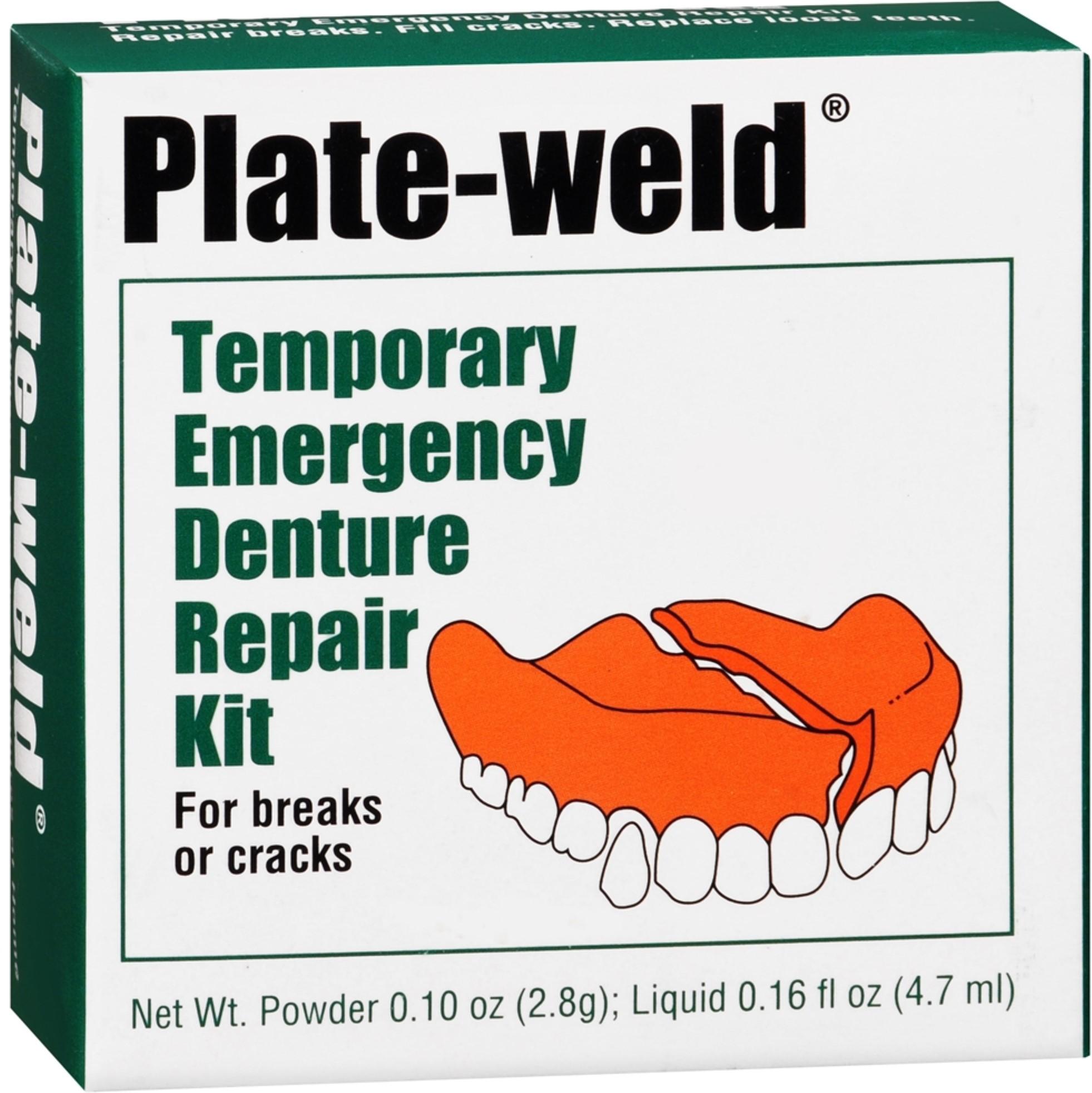 Denture Glue Walmart >> Denture Repair Kits