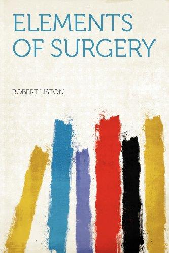 Elements of Surgery by