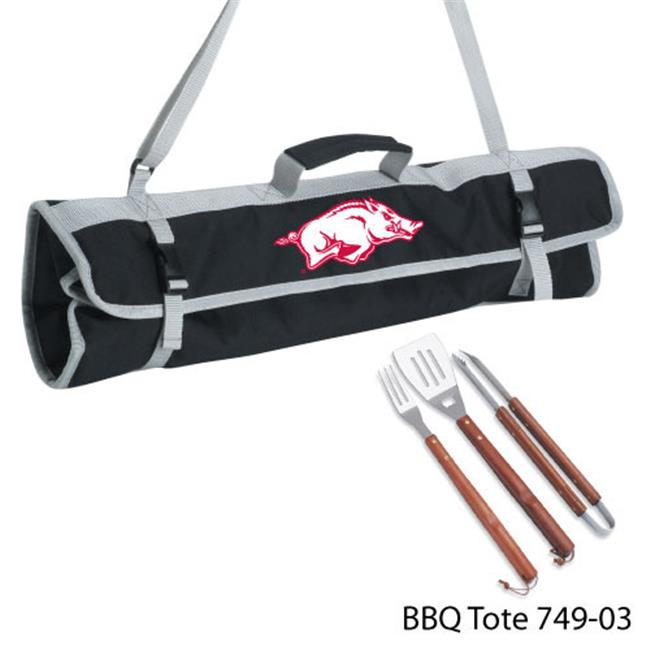 DDI 1481314 Arkansas at Fayetteville 3 Piece BBQ Tote Case Of 8
