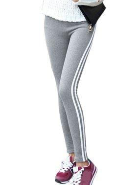 8470987ecc80b Product Image Babula Women Side Stripes Sports Leggings Pants Mid Waist  Jeggings