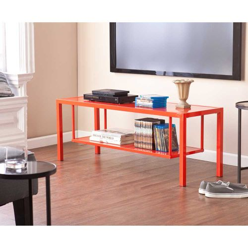 Holly & Martin Maians Media Console - Red-Orange