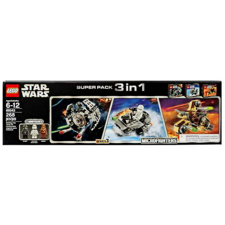 Star Wars Microfighters Super Pack 3 in 1 Set LEGO 66543 ()