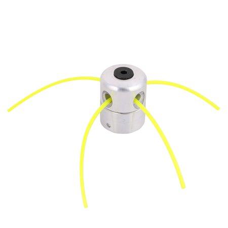 Aluminum Grass Trimmer Head Permanent Nylon Line String Mower Accessory