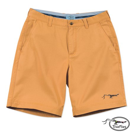 85afaf26b7 TrueFlies Manasota Chino Shorts (40)- Hibiscus - Walmart.com