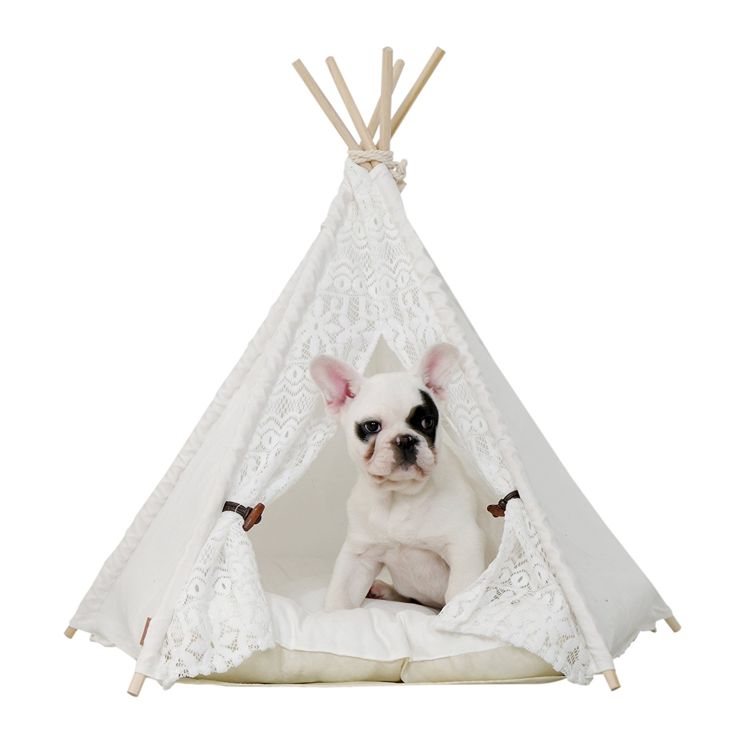 ... little dove Pet Teepee Dog u0026&; Cat Bed - Portable Dog Tents u0026&; Pet  sc 1 st  Walmart & little dove Pet Teepee Dog u0026amp; Cat Bed - Portable Dog Tents u0026amp ...