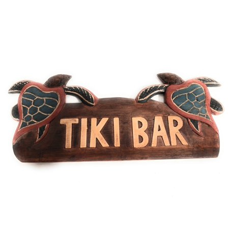 Wooden Tiki Bar - Tiki Bar Sign 14