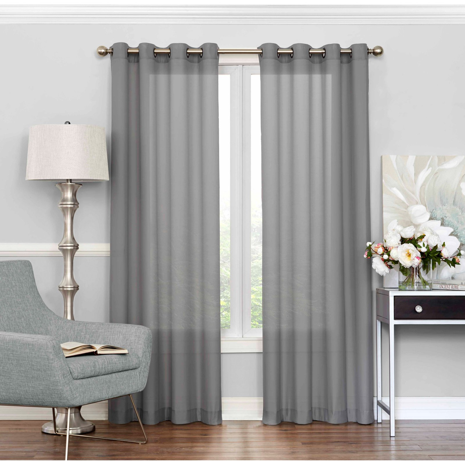 Eclipse Liberty Light Filtering Sheer Curtain by Ellery Homestyles