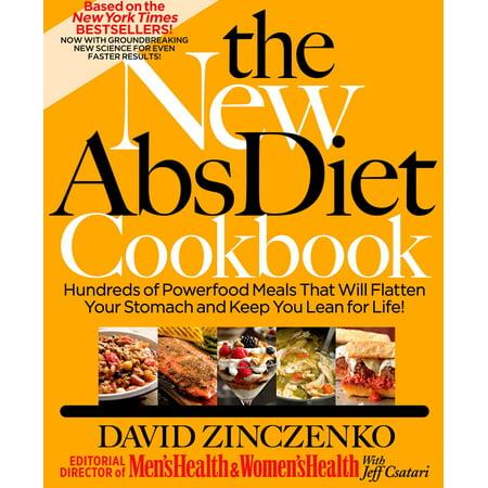 The New Abs Diet Cookbook - eBook (Best Diet To Get Abs)