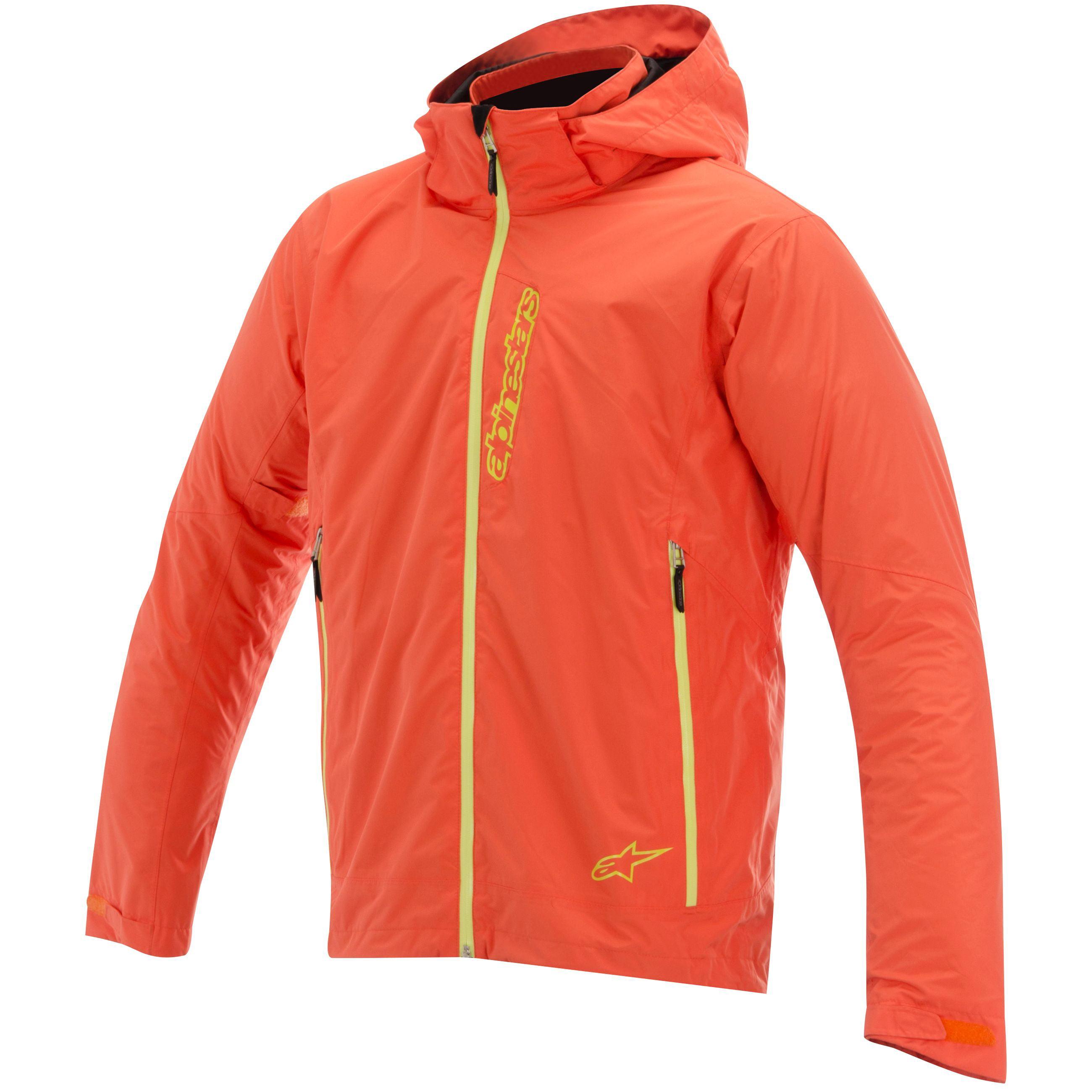 Alpinestars Scion 2L Waterproof Jacket Vermillion Orange XL