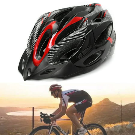 19 Air Holes Adult Sports Hat Bicycle Bike Cycling Headgear Safety Helmet Racing Road Mountain Road
