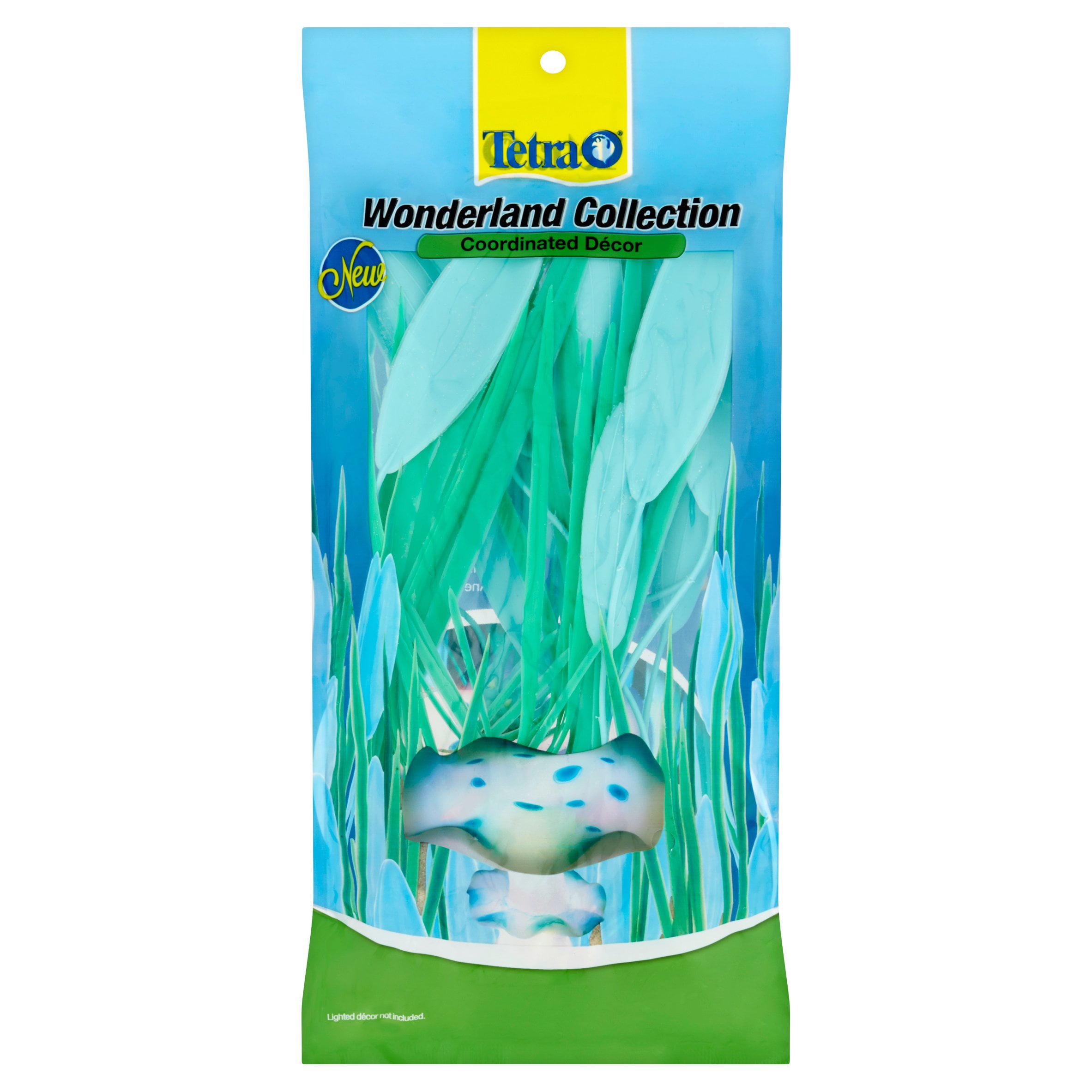 Tetra Wonderland Collection Coordinated Décor Aquarium Plants by Spectrum Brands