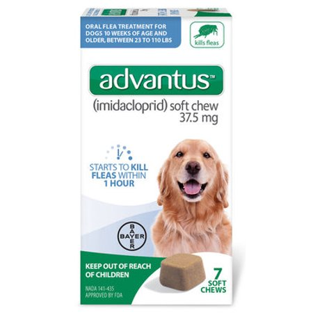 Advantus Soft Chews for Dogs 23-110 lb - 7 count Advantus for Dogs 23-110 lb