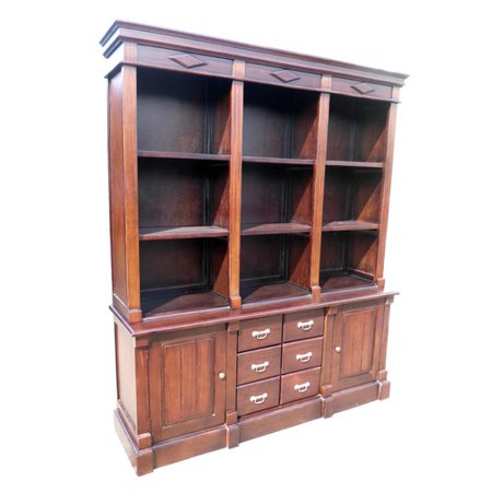 D Art Open Front Oversized Bookcase