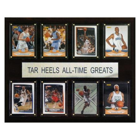 C&I Collectables NCAA Basketball 12x15 North Carolina Tar Heels All-Time Greats Plaque