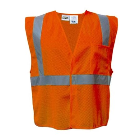 Utility Pro Wear UPA472X-5X-O High Visibility Mesh Vest in Hanger Bag Class 2 - 5X, Orange ()