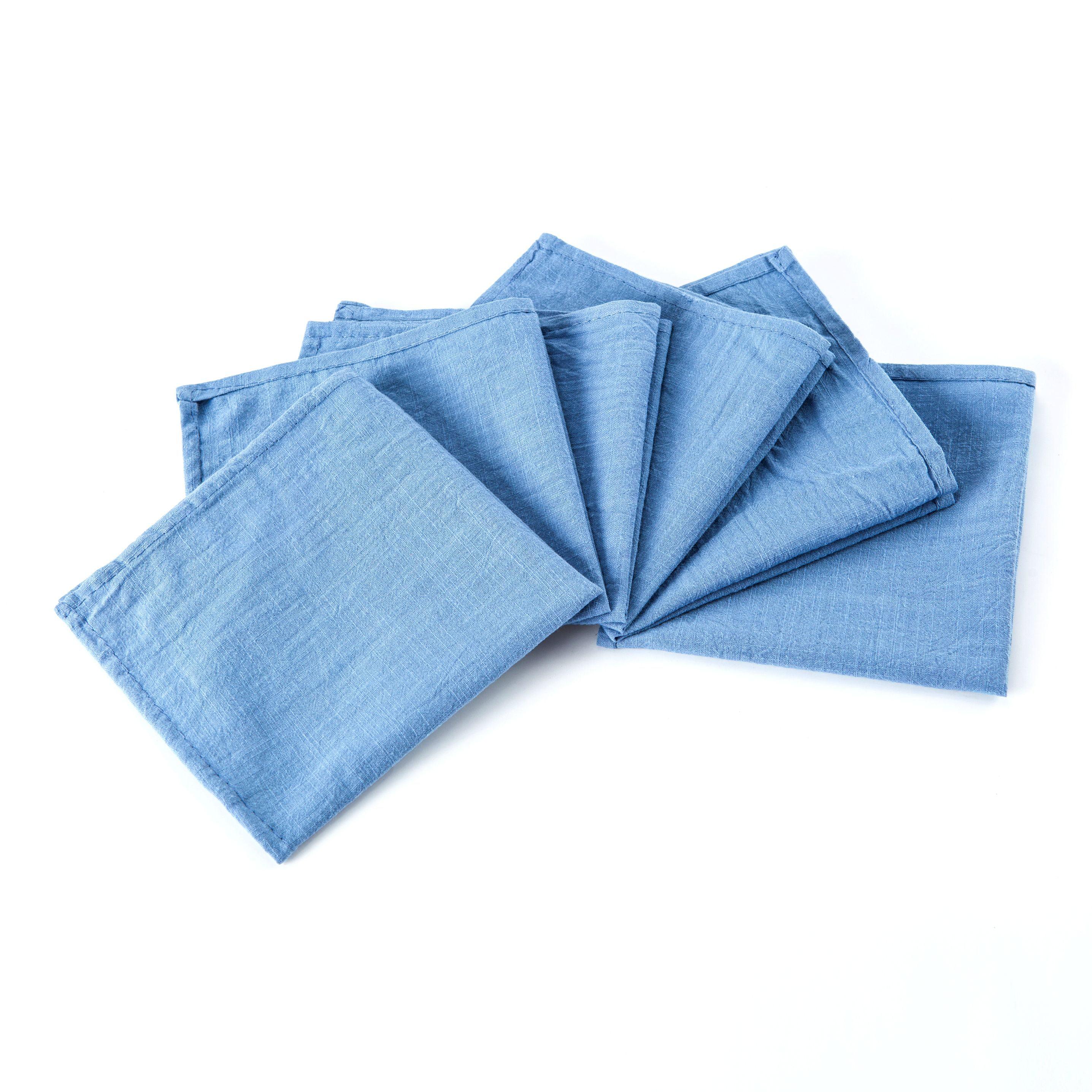 Mint cloth napkins set of 8 Mint wedding napkins Beach wedding table decor