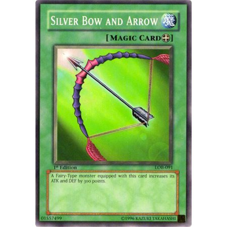 YuGiOh Legend of Blue Eyes White Dragon Silver Bow and Arrow (Legend Arrow)