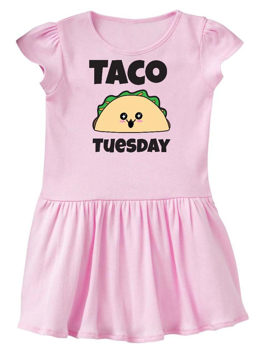 Kawaii Taco Tuesday Toddler Dress