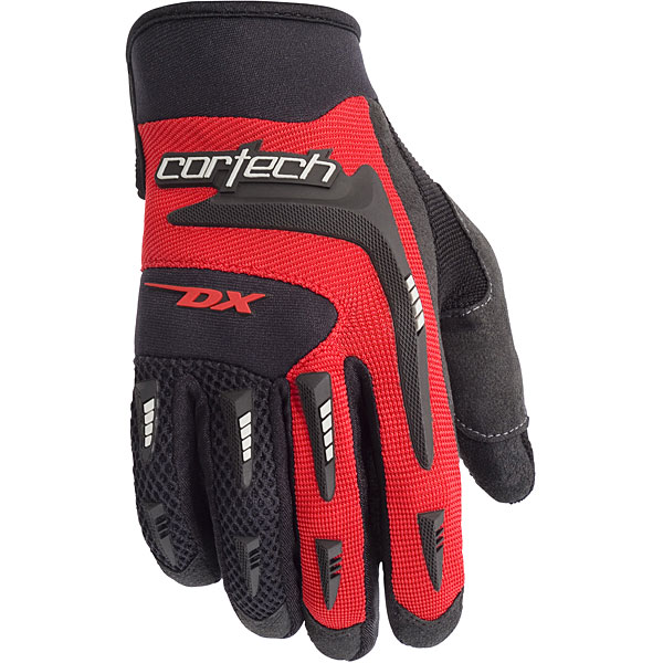 Cortech DX 2 Youth Textile Gloves Red