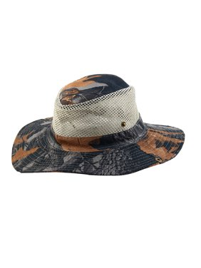 Product Image Men Summer Wide Brim Western Style Camouflage Mesh Cap Net  Sunhat Cowboy Hat  1 1feeaa3b3ac