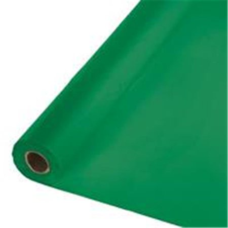 Group  40 x 250 ft. Emerald Green Banquet Roll - image 1 of 1
