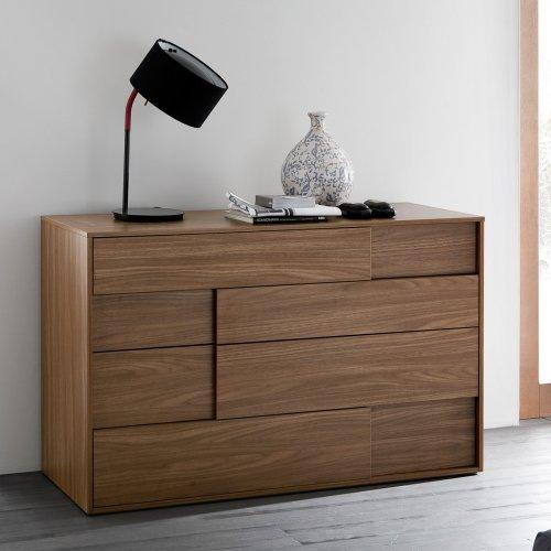 Square Dresser - Walnut