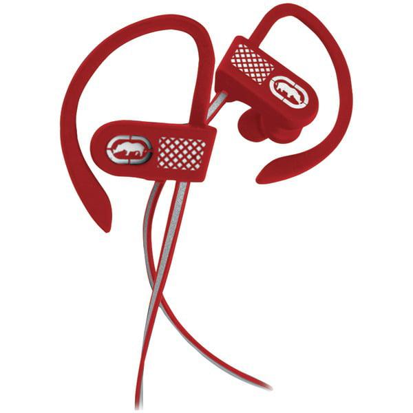 Ecko Unlimited EKU-RNR2-RD Bluetooth Runner2 Ear Hook Earbuds with Microphone (Red)