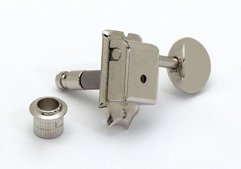 6-in-line Nickel Vintage Style Locking Tuners by AllParts
