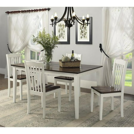 Dorel living shiloh 5 piece rustic dining set for 5 piece living room table set