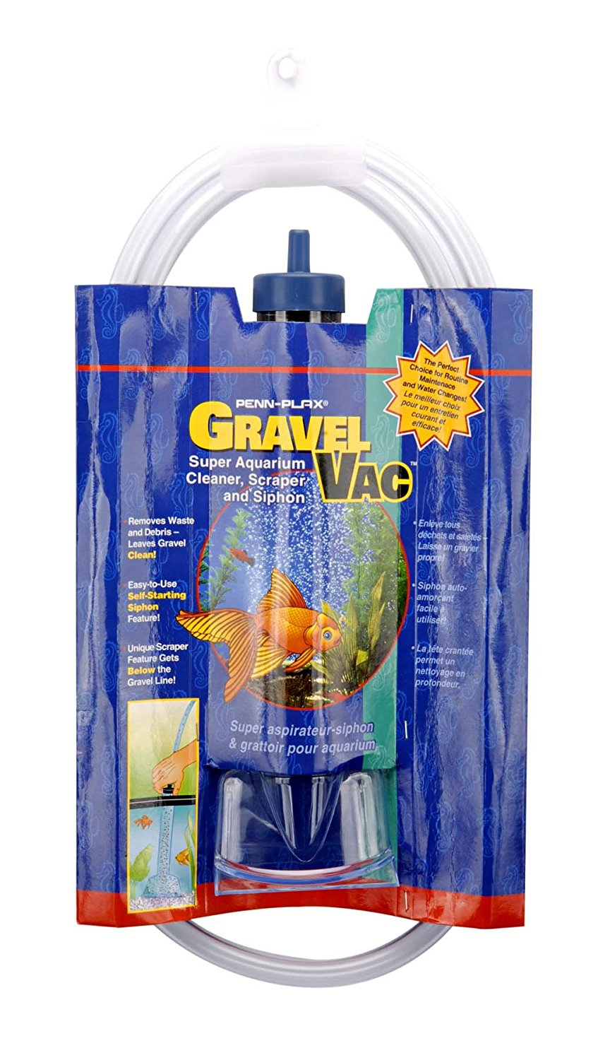 Aquarium Gravel Vac, 9-Inch, This gravel vac has a self starting siphon, great for all routine maintenance... by