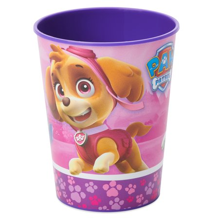 American Greetings PAW Patrol Girl 16oz Plastic Party Cups, - Paw Patrol Party