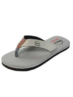 32b5d4a2cb6 Product Image Alpine Swiss Men s Flip Flops Beach Sandals Lightweight EVA  Sole Comfort Thongs. Product Variants Selector. Gray