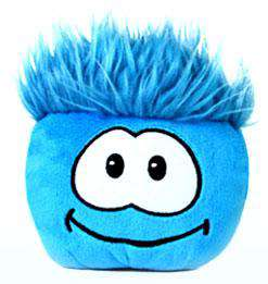Club Penguin Series 1 Blue Puffle Plush