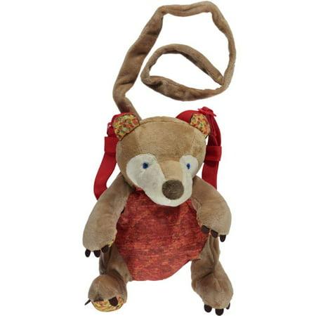 Eric Carle - 2-in-1 Backpack Harness, Bear - Walmart.com