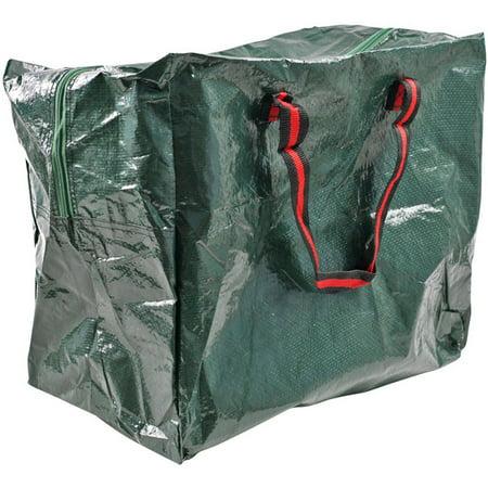 Stalwart Woven Zipper Storage Tote Bag