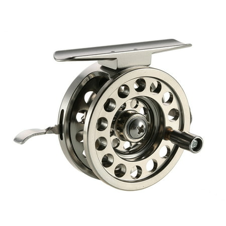 Fly Fishing Reel Right Handed Aluminum Alloy Smooth Rock Ice Fishing Reels Fly Reels Fishing Accessories Bass Fly Fishing Reel
