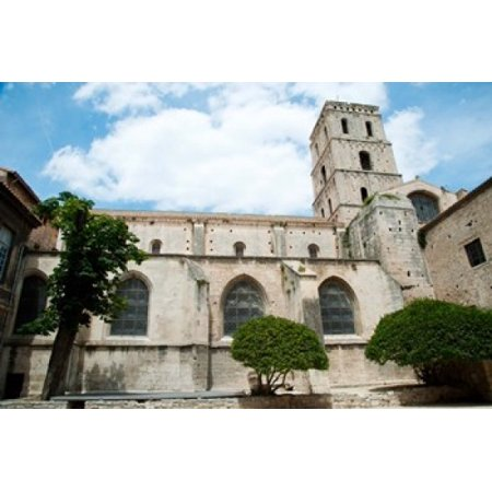 Low Angle View Of A Bell Tower Church Of St Trophime Arles Bouches Du Rhone Provence Alpes Cote Dazur France Poster Print By Panoramic Images  36 X 24