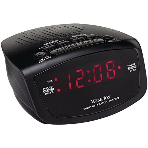 "80209 0.6"" LED CLOCK RADIO"