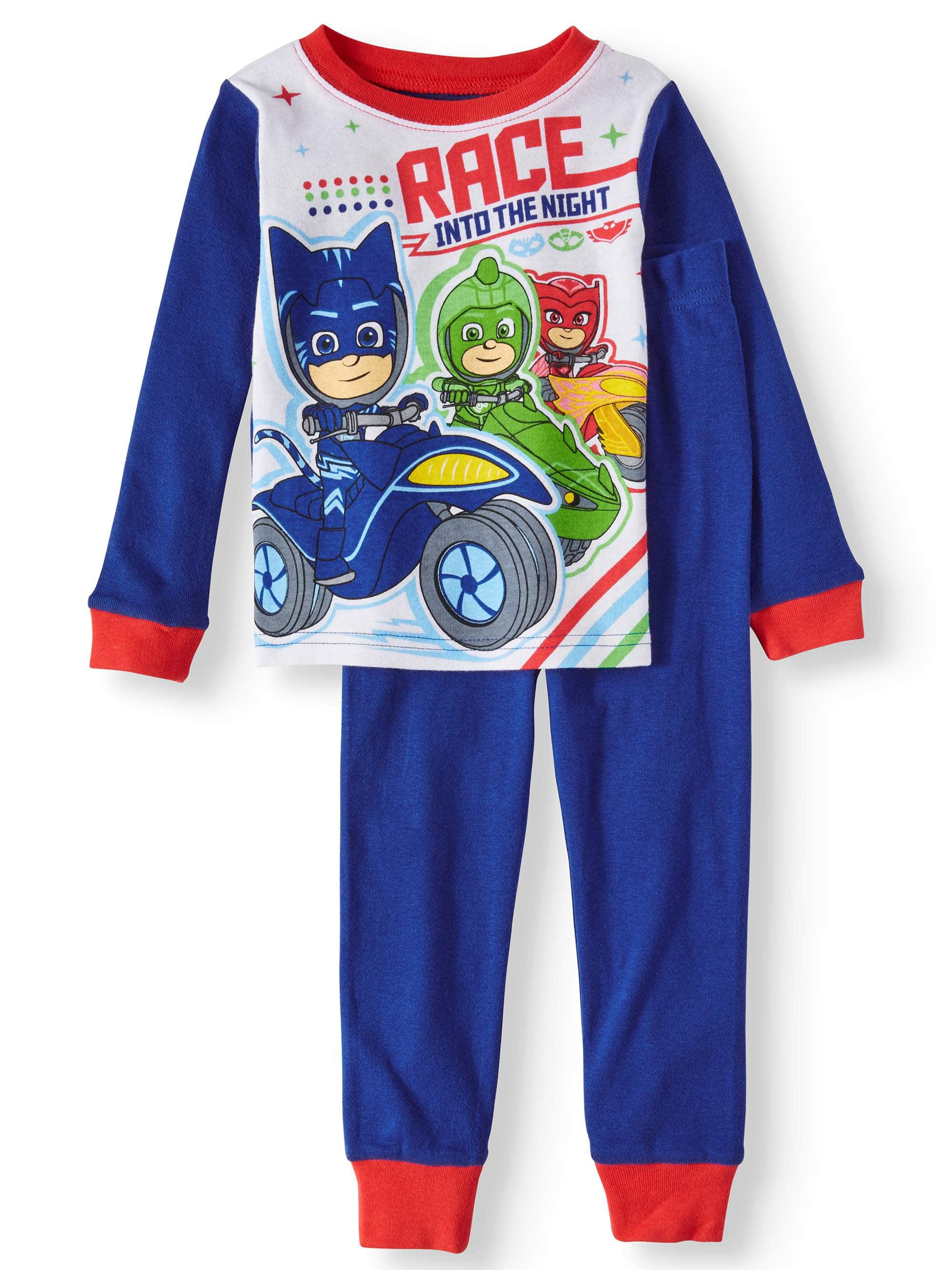 Boys PJ Masks Into The Night to Save The Day Snuggle Fit Pyjamas