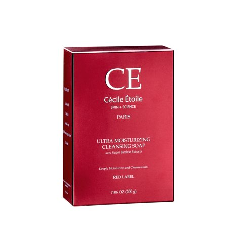 CECILE ETOILE - Ultra Moisturizing Cleansing Soap (Red Label) Campbells Soup Label