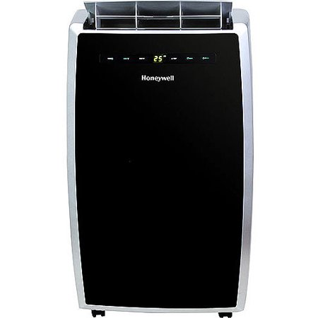 Honeywell Mn12ces 12 000 Btu Room Portable Air Conditioner W Remote Control  Black Silver