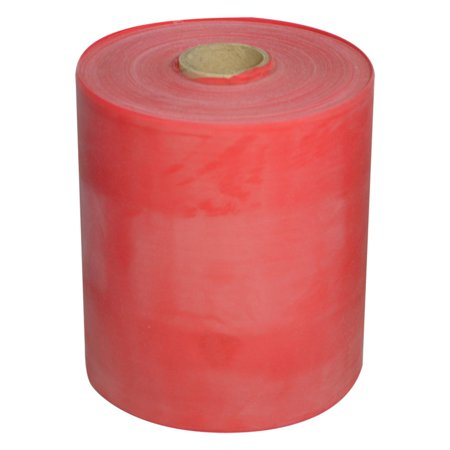 TheraBand Professional Latex Resistance Bands, 50 Yard Roll, Red, Medium, Beginner Level 3