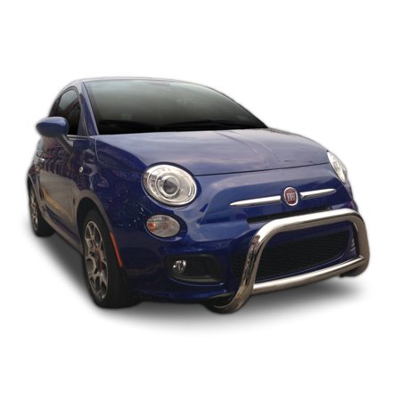 Broadfeet A-Bar/Nudge Bar for 2012-2016 Fiat 500 in Stainless Steel (Excludes