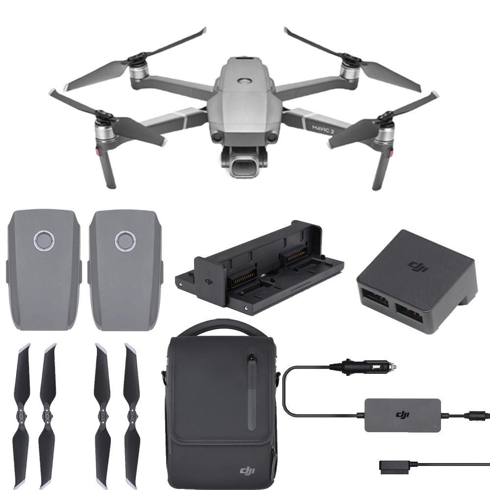 DJI Mavic 2 Pro with Fly More Combo With Hasselblad 20MP UHD 4K Gimbal Plus More by DJI